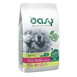 OASY DRY DOG ADULT ALL BREED CINGHIALE KG 2,5