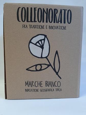 BAG BOX VINO BIANCO MARCHE IGT LT.5 COLLEONORATO