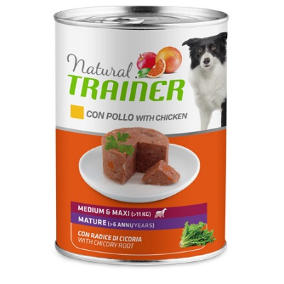 NATURAL TRAINER MEDIUM-MAXI G 400 MATURE POLLO