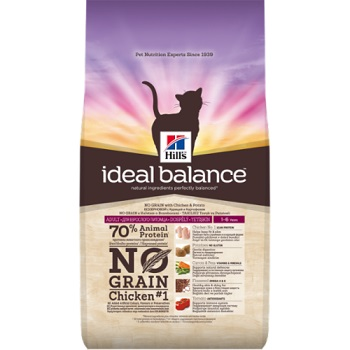 IDEAL BALANCE FELINE ADULT NO GRAIN POLLO-PATATE  KG 1,5