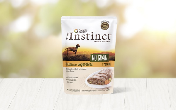 INSTINCT DOG M-M CHICKEN+VERDURE TERRINE GR.300