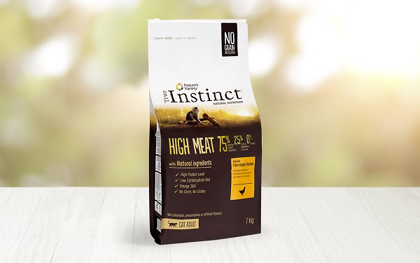 INSTINCT CAT HIGHT MEAT CHICKEN GR.300