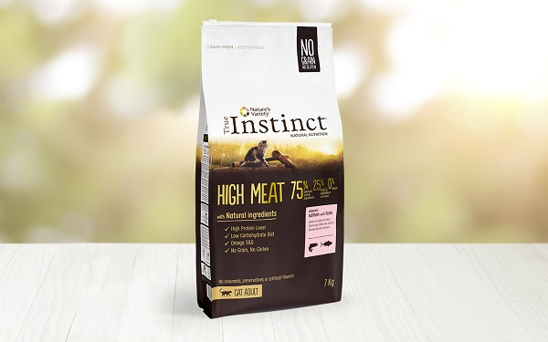 INSTINCT CAT HIGHT MEAT SALMONE KG 1