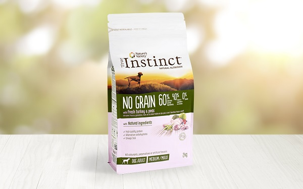 INSTINCT DOG NO GRAIN MEDIUM TACCHINO KG 2
