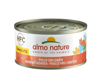 ALMO NATURE COMPLETE CAT POLLO CAROTA GR.70