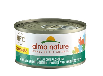 ALMO NATURE COMPLETE CAT POLLO FAGIOLINI GR.70