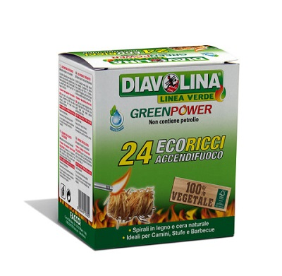 DIAVOLINA ECO RICCI ACCENDIFUOCO X 24