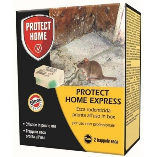 ESCA RODENTICIDA IN BOX PROTECT HOME EZPRESS 2 ESCHE DA 5 g