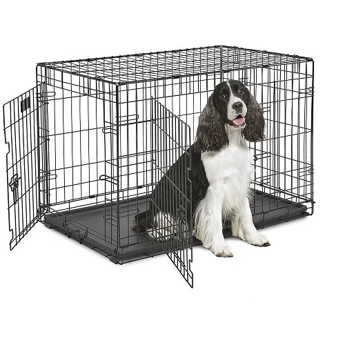 BOX DOG-IN 90 NERO KENNEL