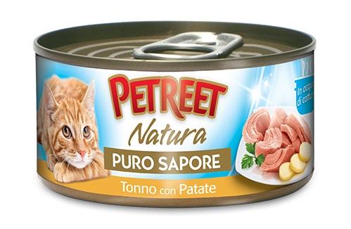 PETREET CAT 70G PURO SAPORE TONNO CON PATATE