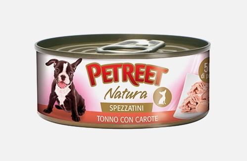 PETREET DOG 150 G SPEZZATINI TONNO CON CAROTE