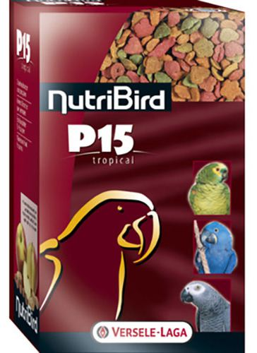ALIMENTO MANTENIMENTO PAPPAGALLI NUTRIBIRD P15 TROPICAL kg 1