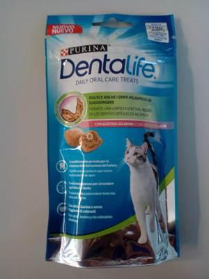 DENTALIFE CAT SALMON 40 grammi