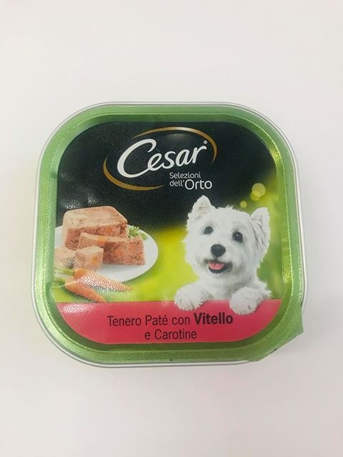 CESAR FLEXI SEL ORTO VITELLO E CAROTINE g 300