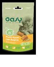 OASY SNACK CAT BISCOTTI RIPIENI CON ANATRA GR.60