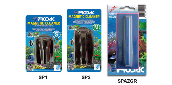 spazzola per acquari MAGNETIC CLEANER MEDIUM PRODAC