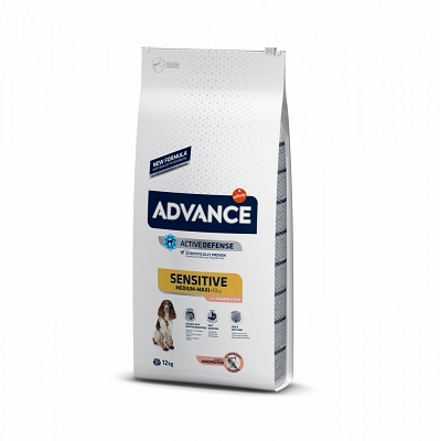 ADVANCE SENSITIVE M-M SALMON E RICE KG.12