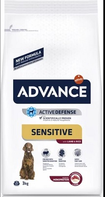 ADVANCE M-M SENSITIVE LAMB & RICE KG.3