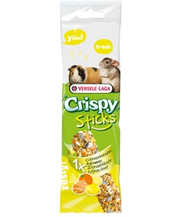 STICK PER CAVIE E CHINCHILLA GUSTO AGRUMI 2 X 55 g