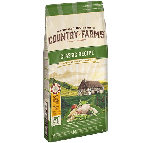 COUNTRY FARMS CLAS ADULT DOG POLLO KG.2.50