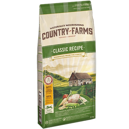 COUNTRY FARMS CLAS PUPPY DOG POLLO KG.12