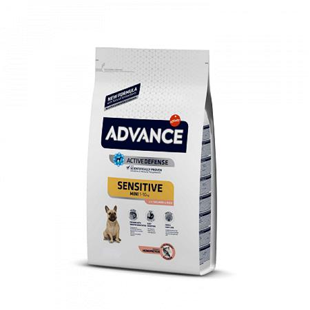 ADVANCE ADULT MINI SENSITIVE SALMONE E RISO KG.1,50
