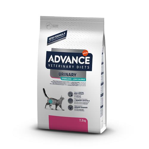 ADVANCE GATTO URINARY STERLIZED LOW CAL KG 7,5