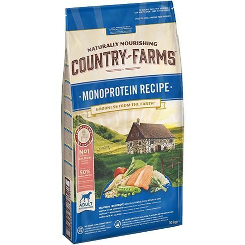 COUNTRY FARMS MONOPROTEICO SALMONE KG.10