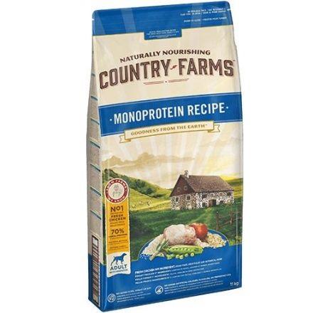 COUNTRY FARMS MONOPROTEICO POLLO KG.11