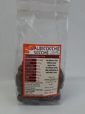 ALBICOCCHE DENOCCIOLATE SECCHE GR 200