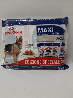 MAXI ADULT MULTIPAC 4X140 GR. ROYAL CANIN