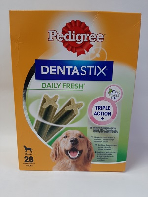 PED DENTASTIX FRESH X 28 LARGE 4X270G