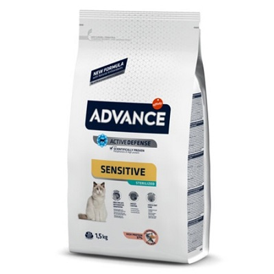 ADVANCE CAT SENSITIVE STERILIZED KG 1,5 SALMONE