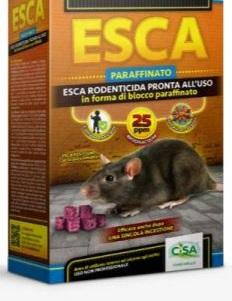 ESCA PARAFFINATO 25 ANICE SACCHETTO GR.300 CISA