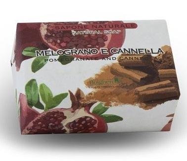 SAPONE NATURALE 100 GR MELOGRANO E CANNELLA