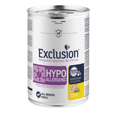 EXCLUSION HYPO QUAGLIA E PISELLI 400 GR