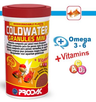 COLDWATER GRANULES MINI 250 ML 125 GR