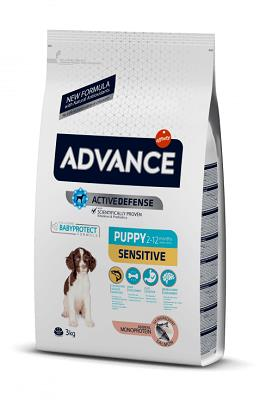 ADVANCE PUPPY SENSITIVE KG 3 SALMONE