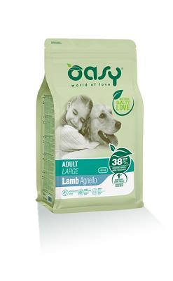 OASY DRY DOG ADULT LARGE AGNELLO KG 12