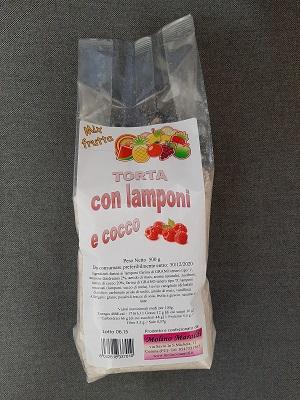 PREPARATO PER TORTA LAMPONI E COCCO GR.500