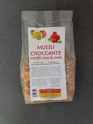 MUESLI CROCCANTE ALLA MELA GR.250