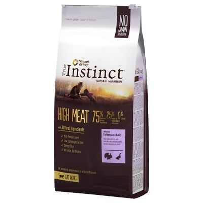 INSTINCT CAT HIGH MEAT TACCHINO CON ANATRA KG 1