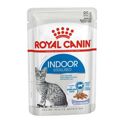 FHN W INDOOR STERILISED JELLY 85 GR ROYAL CANIN