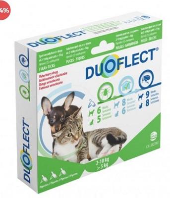 DUOFLECT 3 PIP 0,7 ML 2-10 KG CANE +5 KG GATTO