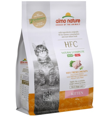 HFC CAT 300 GR KITTEN POLLO