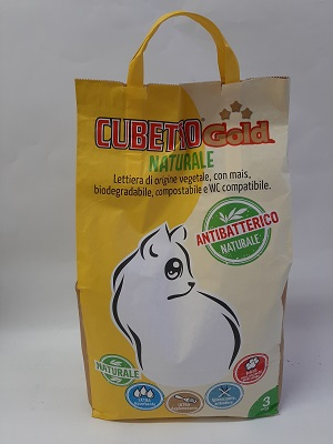CUBETTO GOLD 3 KG NATURE