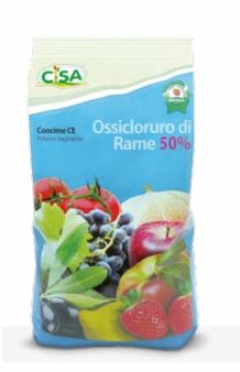 CONCIME OSSICLORURO DI RAME 50% KG 1