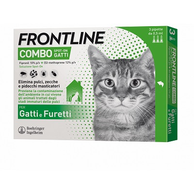 FRONTLINE SPOT-ON GATTO X 3 PIPETTE