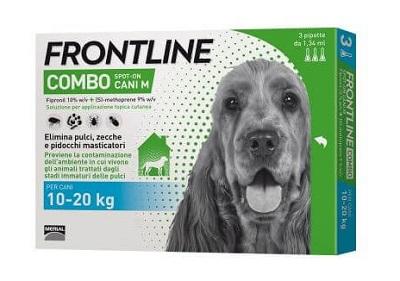 FRONTLINE COMBO SPOT-ON CANE MEDIO