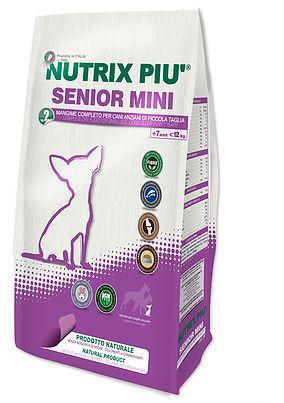 NUTRIX PIU' SENIOR MINI KG.2